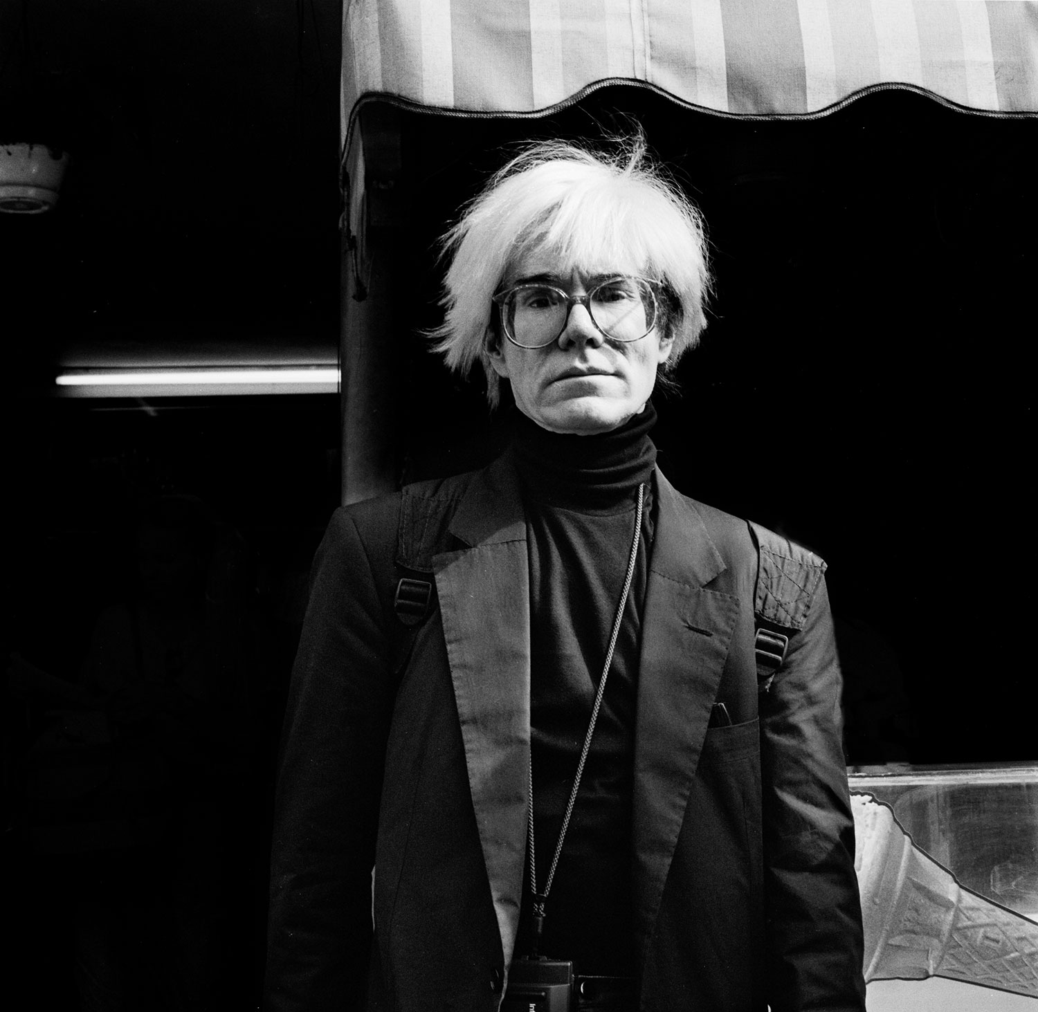 Andy Warhol in London by Richard Krall, 1986