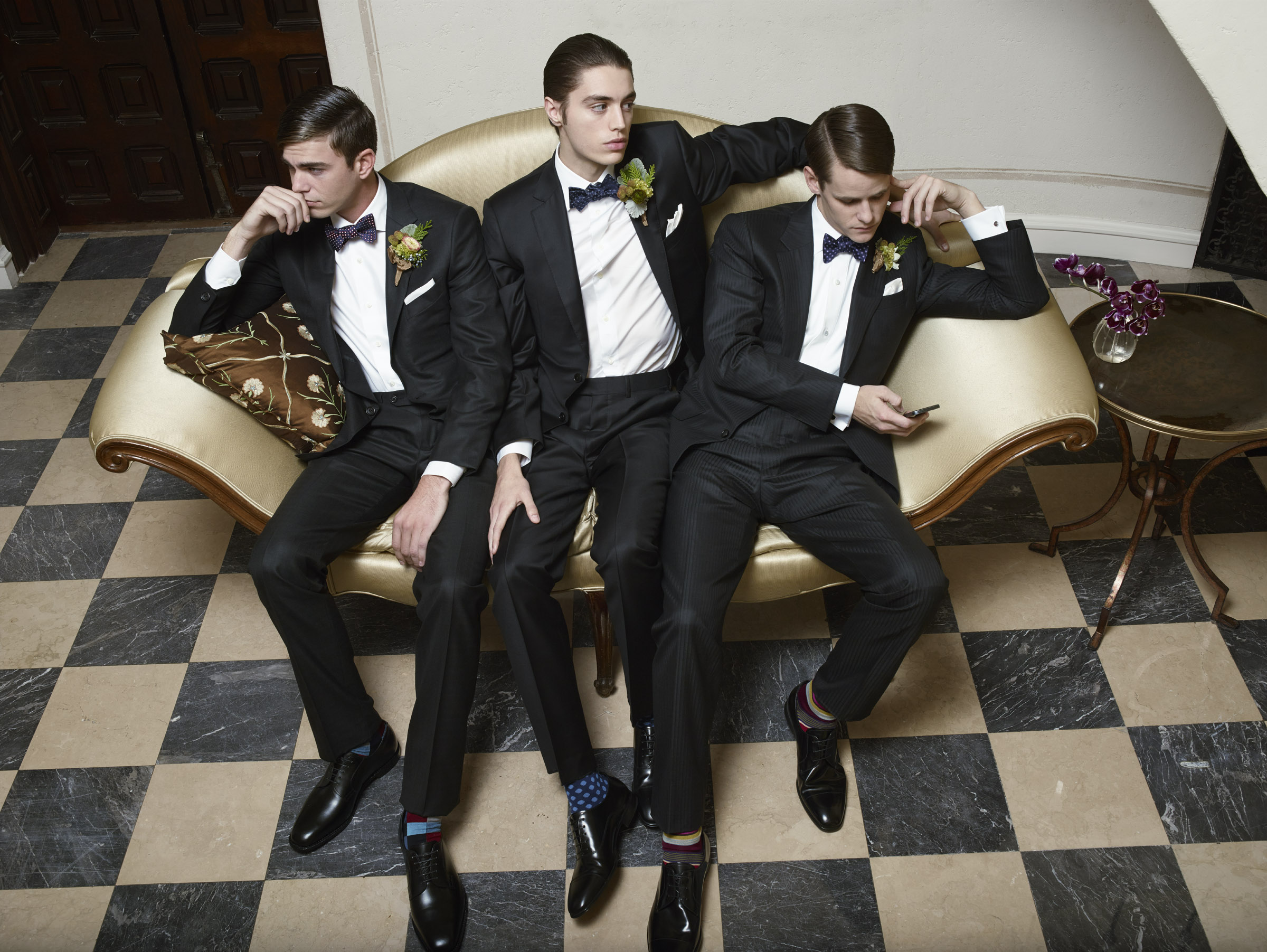 Mens Wedding styling by Brittany Winter