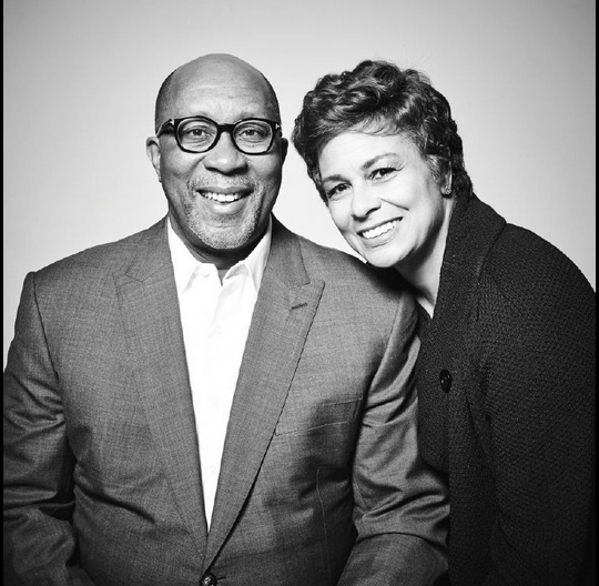 Portrait of Ron Kirk with his wife