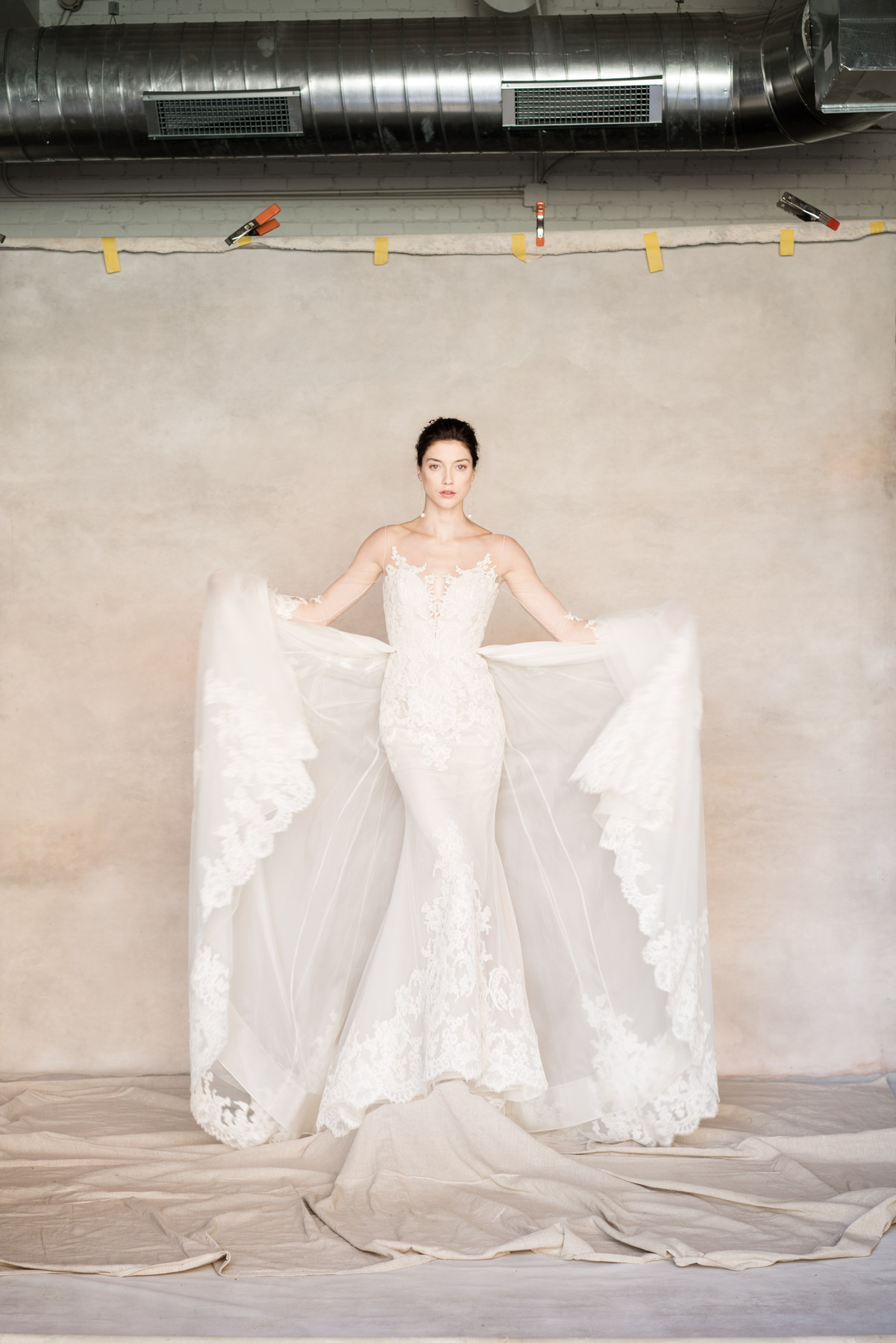 D Bridal fashion styled by Brittany Winter