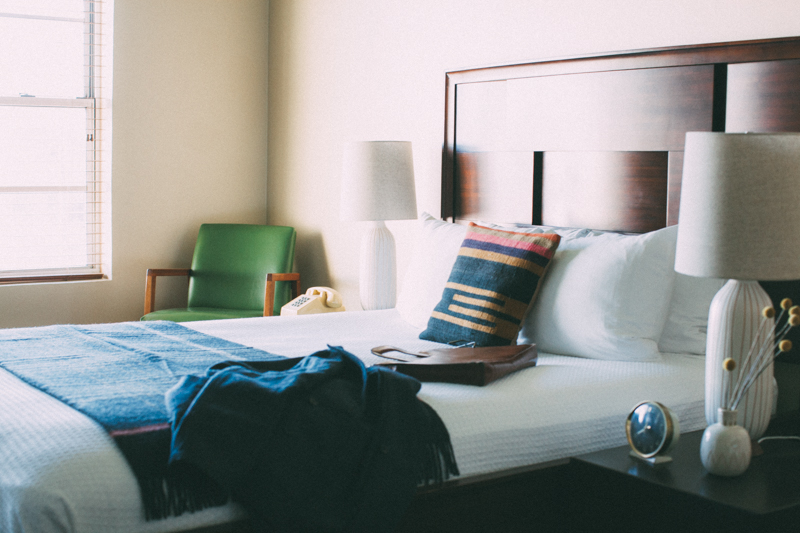 Hotel Room photo styling