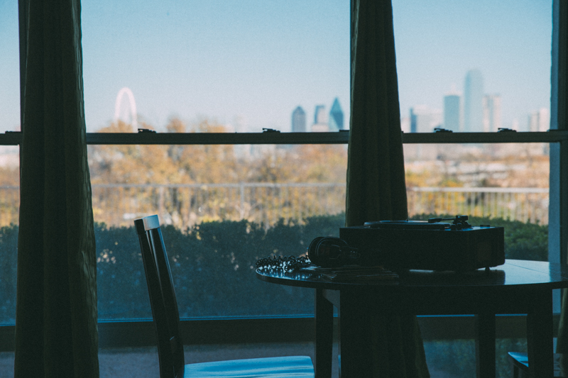 View from a room at Belmont Hotel Dallas